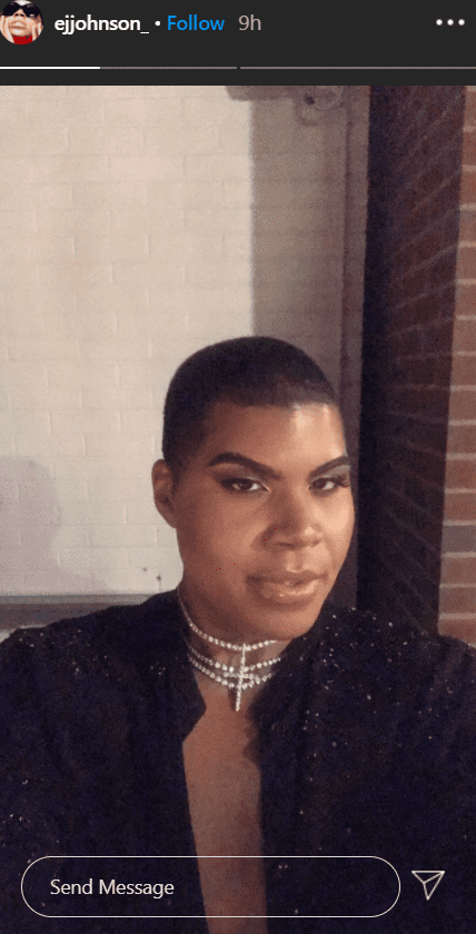 A selfie of EJ Johnson at Dorothy Wang's birthday party. | Photo: Instagram/Ejjohnson_