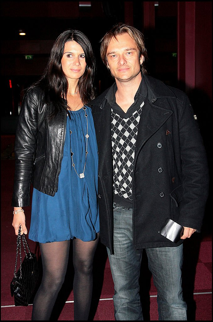 David Hallyday et Alexandra Pastor. | Photo : Getty Images