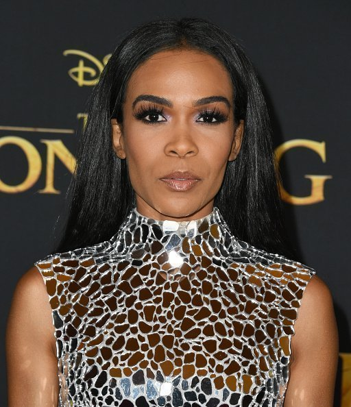"Michelle Williams at the Premiere Of Disney's ""The Lion King"" in Hollywood, California.