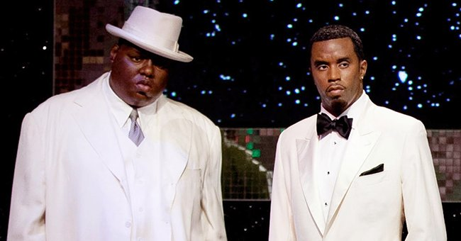 Diddy Shouts with Excitement after News of Biggie's Induction into the Rock and Roll Hall of Fame