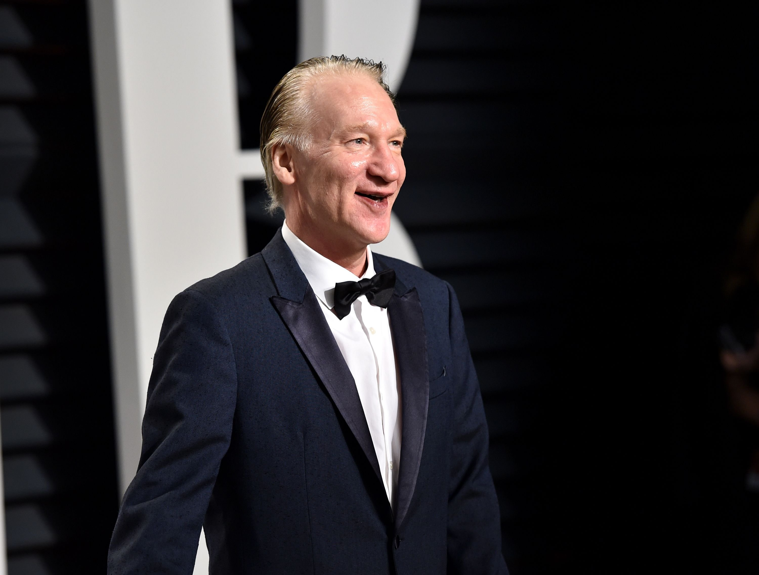 Bill Maher attends the 2017 Vanity Fair Oscar Party at Wallis Annenberg Center for the Performing Arts on February 26, 2017 in Beverly Hills, California. | Photo: Getty Images