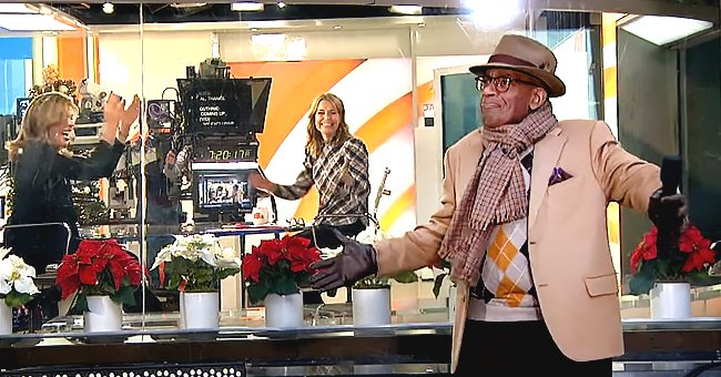 Al Roker Celebrates His Return to Today Plaza for the First Time since March —See the Video