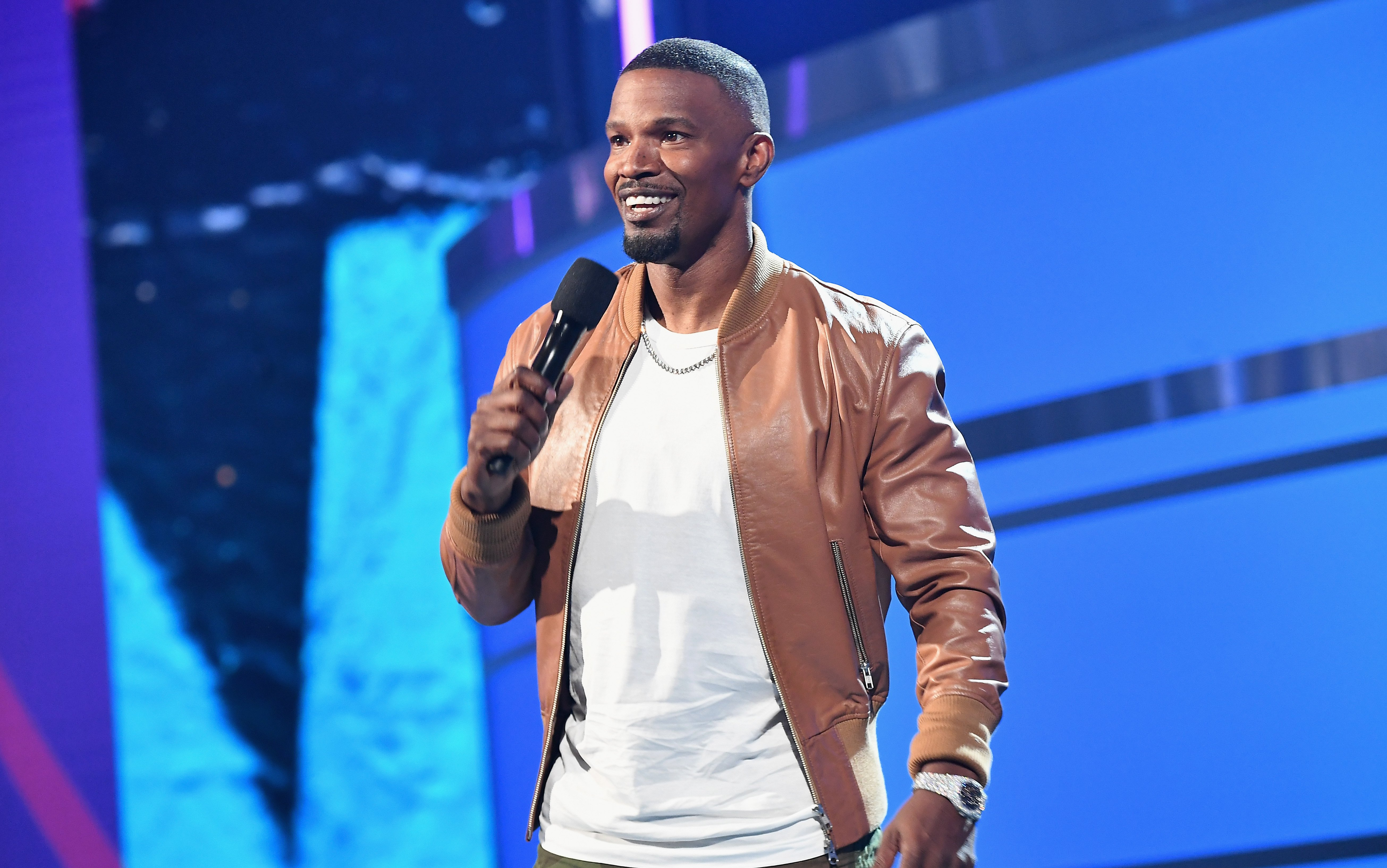Jamie Foxx speaks onstage at the 2018 BET Awards at Microsoft Theater on June 24, 2018 in Los Angeles, California | Photo: GettyImages