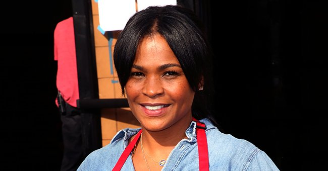 Nia Long from 'Love Jones' Takes Selfie with Look-Alike Son Kez Sunday Udoka