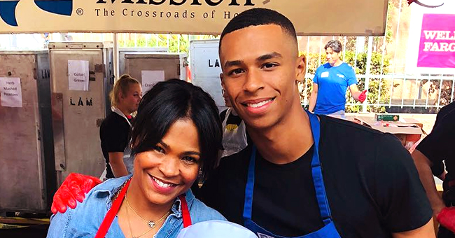 Nia Long Gives 'Last Kiss' to Son Massai as He Officially Becomes a College Freshman