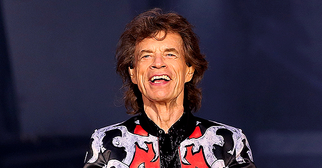 Mick Jagger's Youngest Son Deveraux Is 2 Years Old and He Already Looks like His Dad