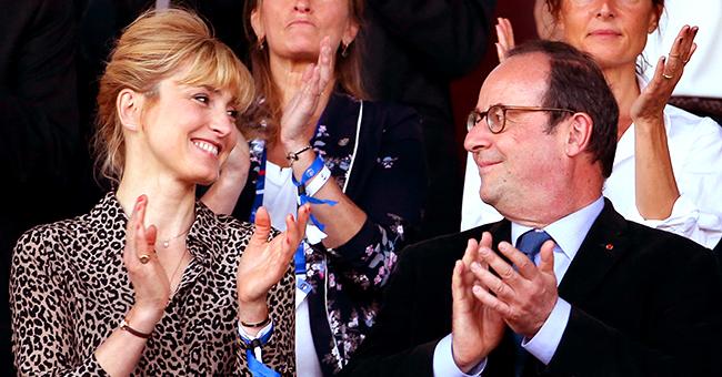 Un rare selfie de Julie Gayet et François Hollande lors d'une sortie romantique