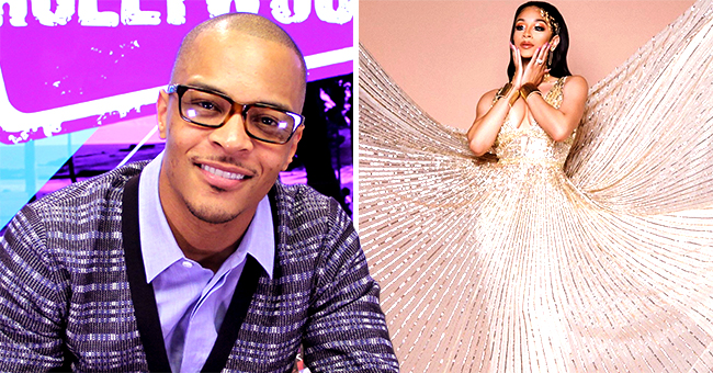 T.I.'s Daughter Deyjah Dazzles in Golden Dress after Turning 18