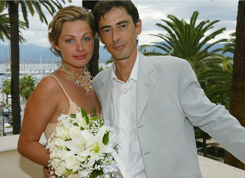 Philippe Vecchi et Macha Polikarpova lors de leur mariage. l Source : Getty Images
