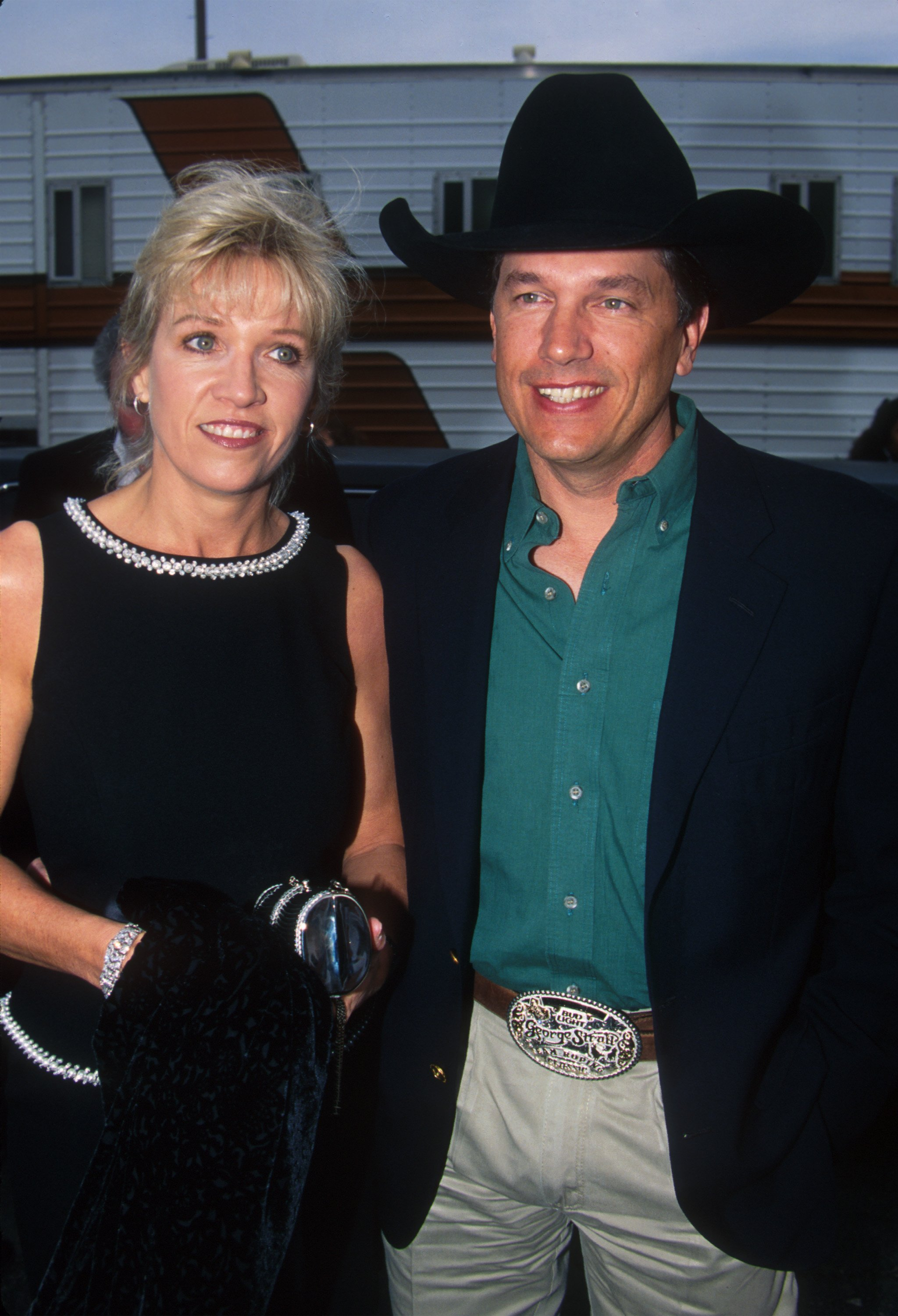 George Strait and Norma Strait during The 25th Annual American Music Awards in California. | Source: Getty Images