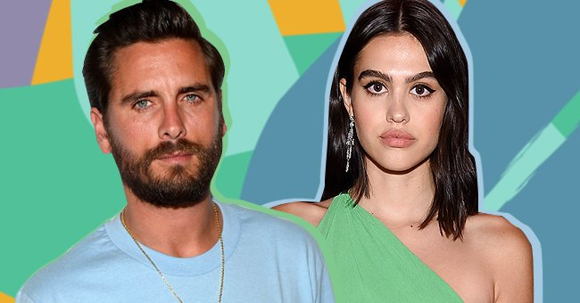 Scott Disick on the left and Amelia Gray Hamlin on the right | Photo: Getty Images