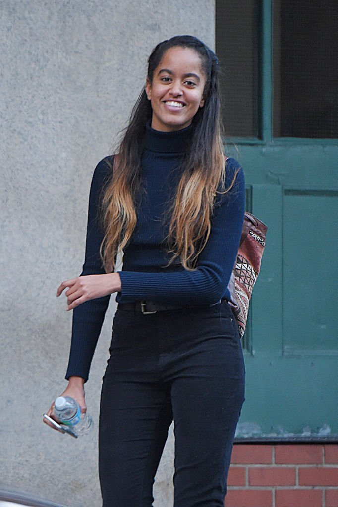 Malia Ann Obama is seen out in Manhattan with friend | Photo: Getty Images