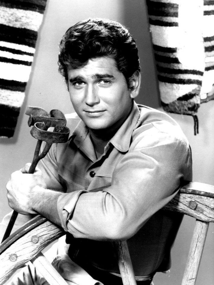 Michael Landon dans Bonanza. l Source: Wikimedia Commons