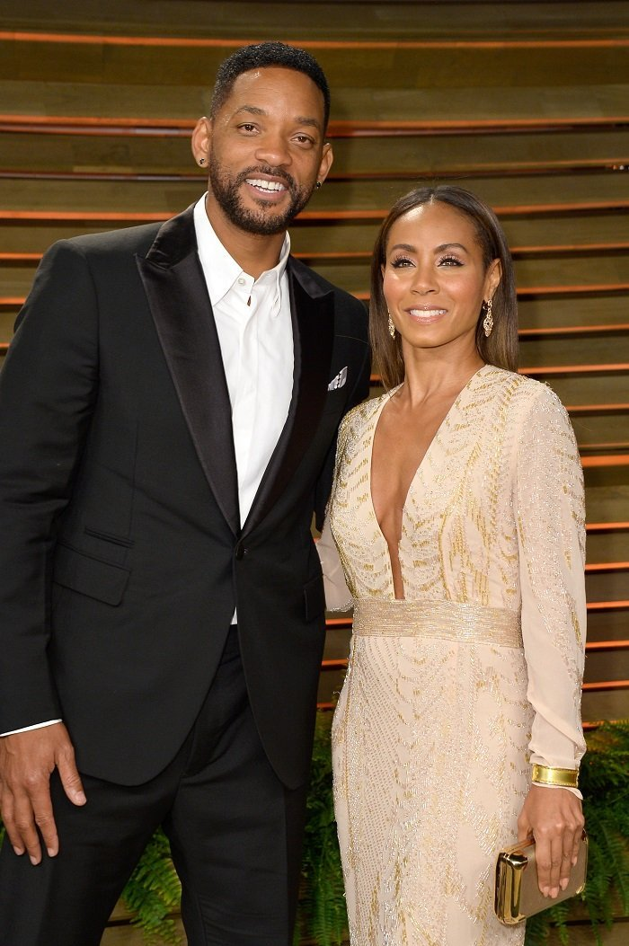 Jada Pinkett Smith and her husband Will Smith. l Picture: Getty Images