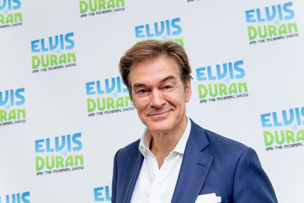 """Dr. Oz visits """"The Elvis Duran Z100 Morning Show"""" at Z100 Studio. 