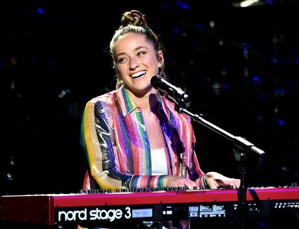 Brynn Cartelli performs at the Sands Cares INSPIRE 2019 charity concert benefiting local nonprofit organizations at The Venetian Las Vegas on May 24, 2019, in Las Vegas, Nevada. | Source: Getty Images.