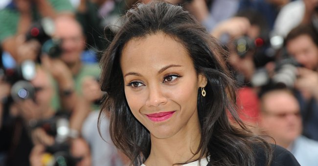 Zoe Saldana Shares a Rare Photo of Her Husband Marco Teaching Their 3 Kids How to Play Soccer