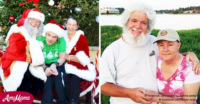 Grieving widower continues Christmas tradition to honor his late wife - Mrs. Santa