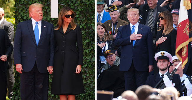 Melania Trump Sparks Backlash for Wearing Sunglasses during a D-Day Ceremony