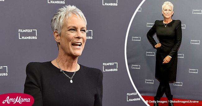 Here's the touching reason why Jamie Lee Curtis doesn't dye her hair or wear heels