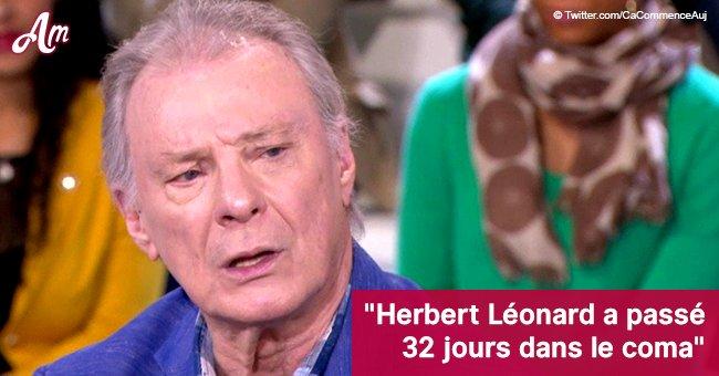 Herbert Léonard a été hospitalisé: Il donne finalement des nouvelles rassurantes sur sa santé