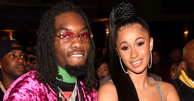 Cardi B Shows off New Tattoo of Offset's Name on the Back of Her Thigh