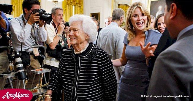 Barbara Bush's granddaughter Jenna missed her grandmother while sharing Christmas memories