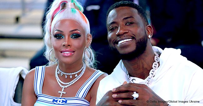 Keyshia Ka'oir & Gucci Mane turn heads in color-coordinated designer clothes in pic from date night