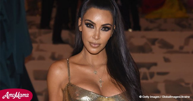 Kim Kardashian shares throwback photo of her as a 'Catholic school girl'