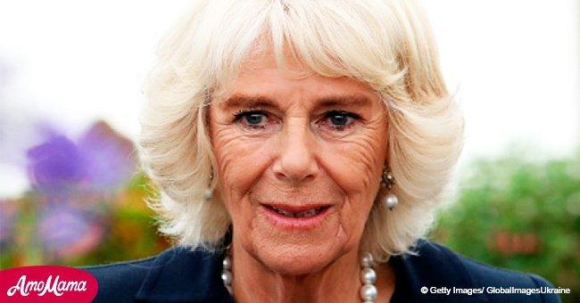 Camilla trug eine geliebte Halskette von Diana, die ihr von der Queen geschenkt wurde