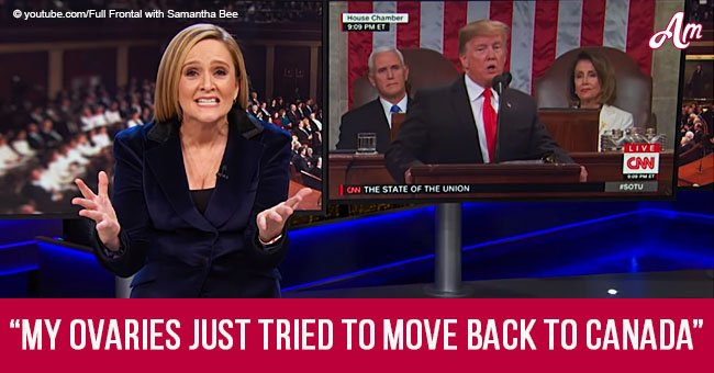 Samantha Bee blasts Trump over HIV and abortion claims in her latest TV show