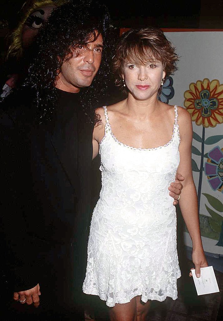 Kristy McNichol and hairdresser Joey Corsaro at the St. Jude Children's Research Hospital 30th Anniversary on July 25, 1992 in Los Angeles   Photo: Getty Images