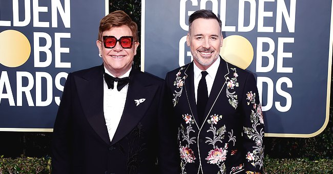 Elton John Is Staying Home with Husband David Furnish & Their Sons Amid Coronavirus Spread