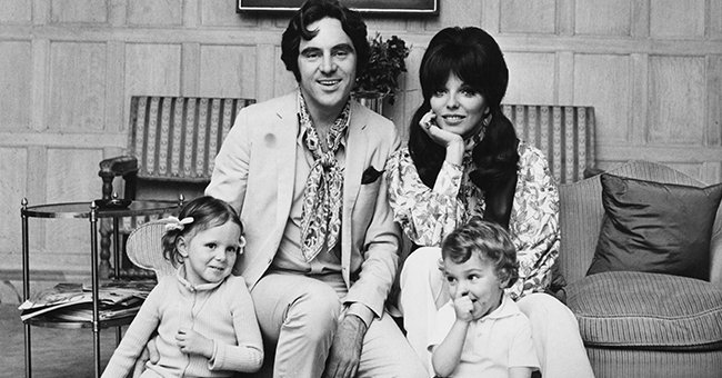 Joan Collins Shares Touching Throwback Photo with Ex-husband and Their Toddler Kids