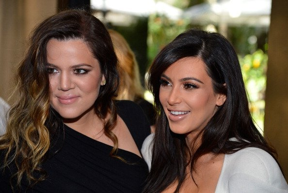 Khloe Kardashian and Kim Kardashian at the Four Seasons Hotel Los Angeles at Beverly Hills on March 2, 2013 in Beverly Hills, California   Photo: Getty Images