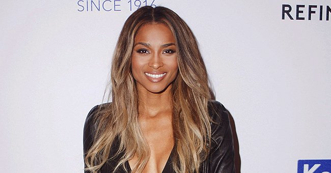 Pregnant Ciara Shows off Growing Baby Bump in Black Bikini While Sunbathing