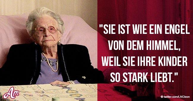 Ein rührender Brief eines Mannes an seine 106-jährige Mutter, in dem er von ihrem schwierigen Leben erzählt