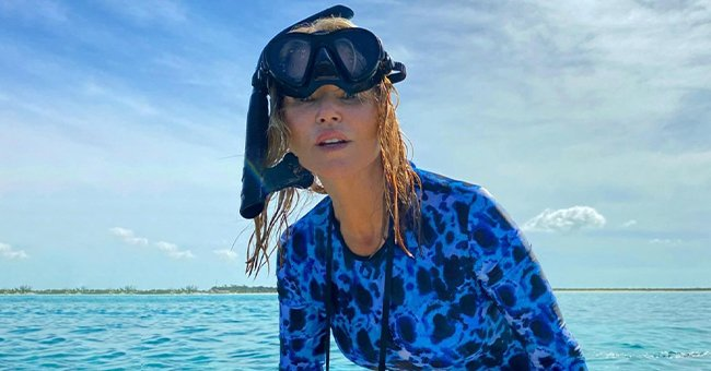 Christie Brinkley Works on Projects at Her Vacation Home as She Gets Busy Saving Planet Earth