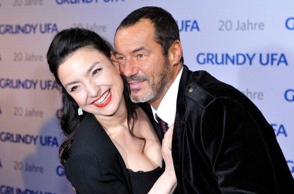 Tatjana Clasing und Silvan-Pierre Leirich, Berlin, 2011 | Quelle: Getty Images