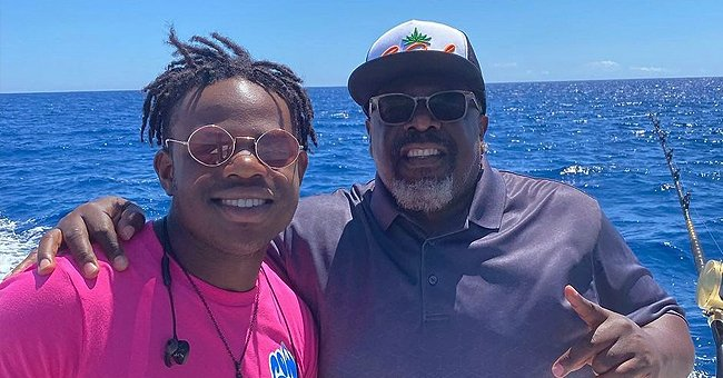 Cedric the Entertainer Shares Rare Snap Posing With His Son While Fishing — Do They Look Like Twins?