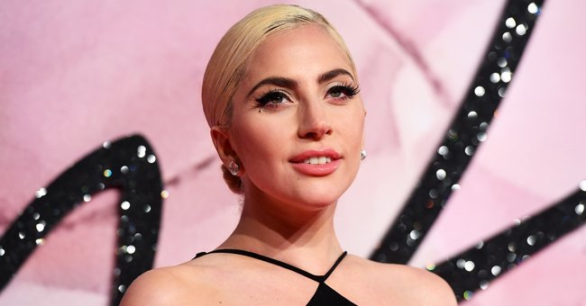 Lady Gaga Shows off Her Incredible Curves Posing in the Grass in Pink Underwear