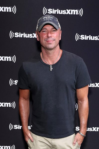 Kenny Chesney at Super Bowl LIV on January 31, 2020 in Miami, Florida. | Photo: Getty Images