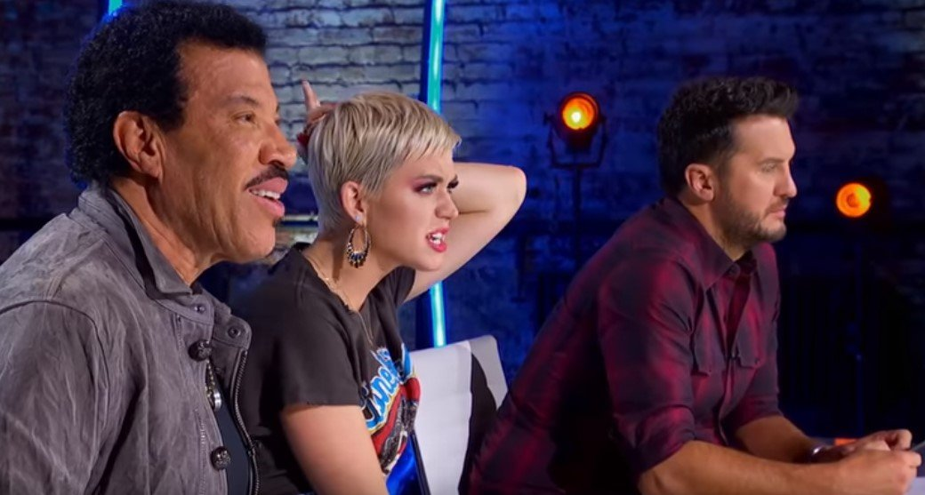 "Judges, Lionel Richie, Katy Perry, and Luke Bryan on ""American Idol"" 
