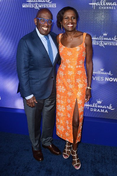 Al Roker and Deborah Roberts arrive at Hallmark Channel And Hallmark Movies & Mysteries Summer | Photo: Getty Images