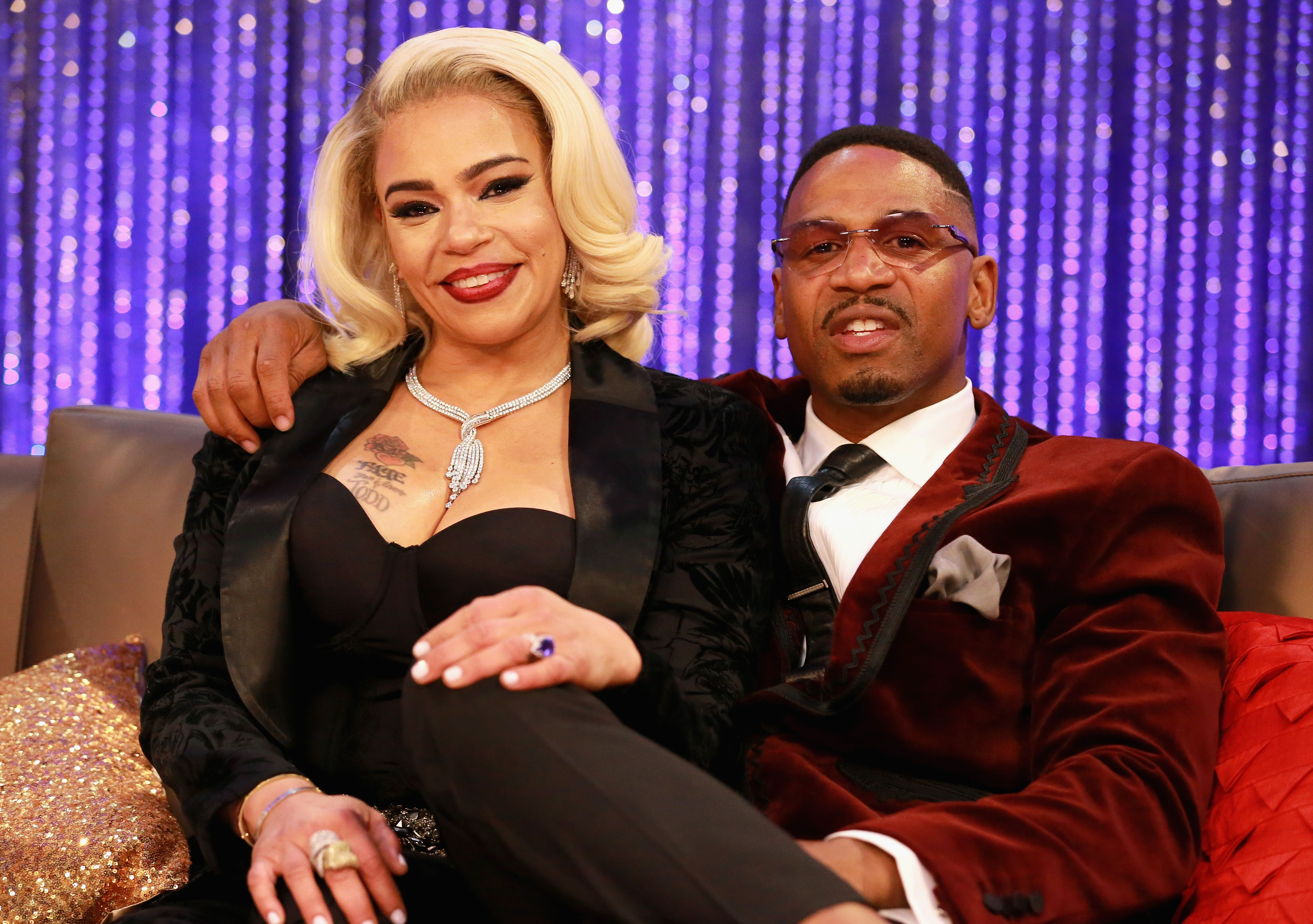 Faith Evans and Stevie J at the post show for the Soul Train Awards in November 2018. | Photo: Getty Images