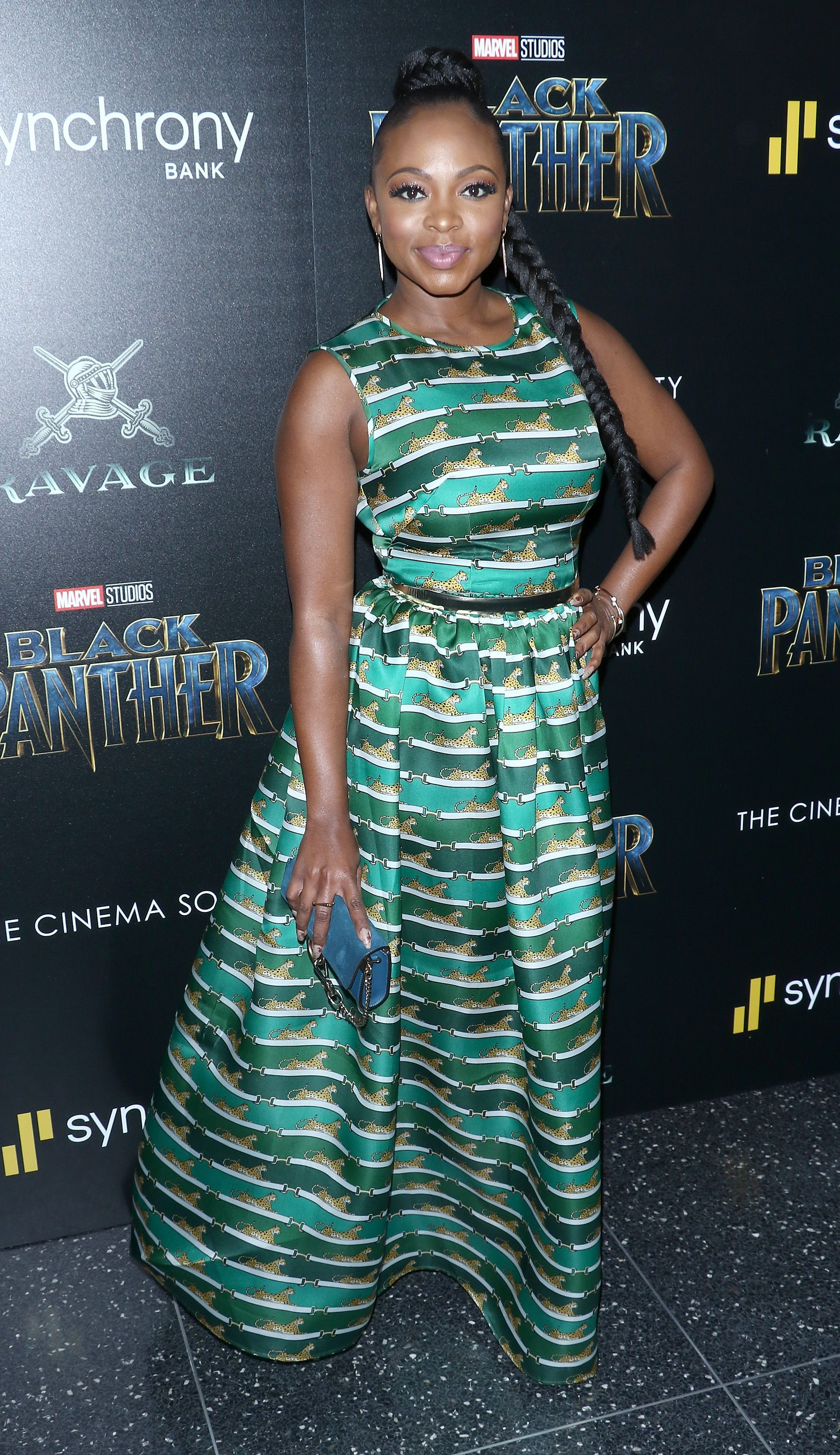 """Naturi Naughton at the screening of """"Black Panther"""" on February 13, 2018 in New York. │Photo: Getty Images"""