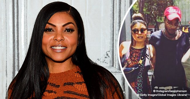 Taraji P. Henson's model son looks all grown up in recent photo his 'bloodies'