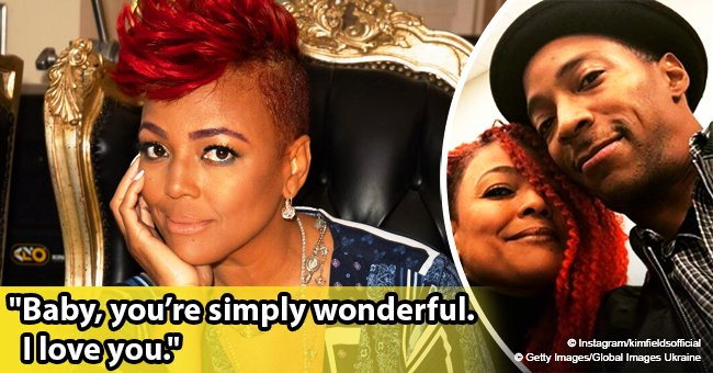 Kim Fields smiles in rare photo with her husband on 1st Thanksgiving since the death of his dad
