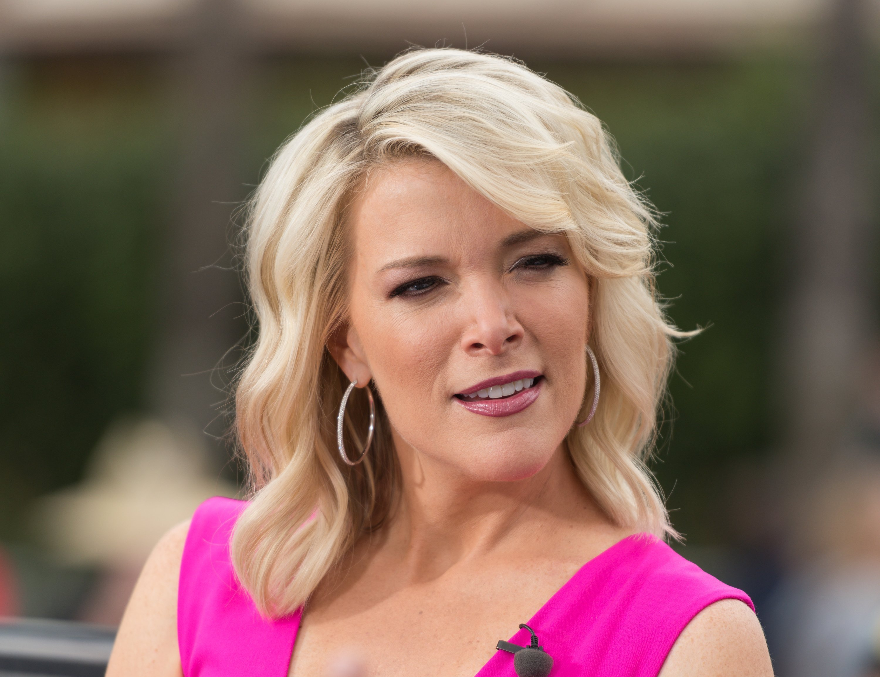 "Megyn Kelly visits ""Extra"" at Universal Studios Hollywood on September 19, 2017, in Universal City, California. 