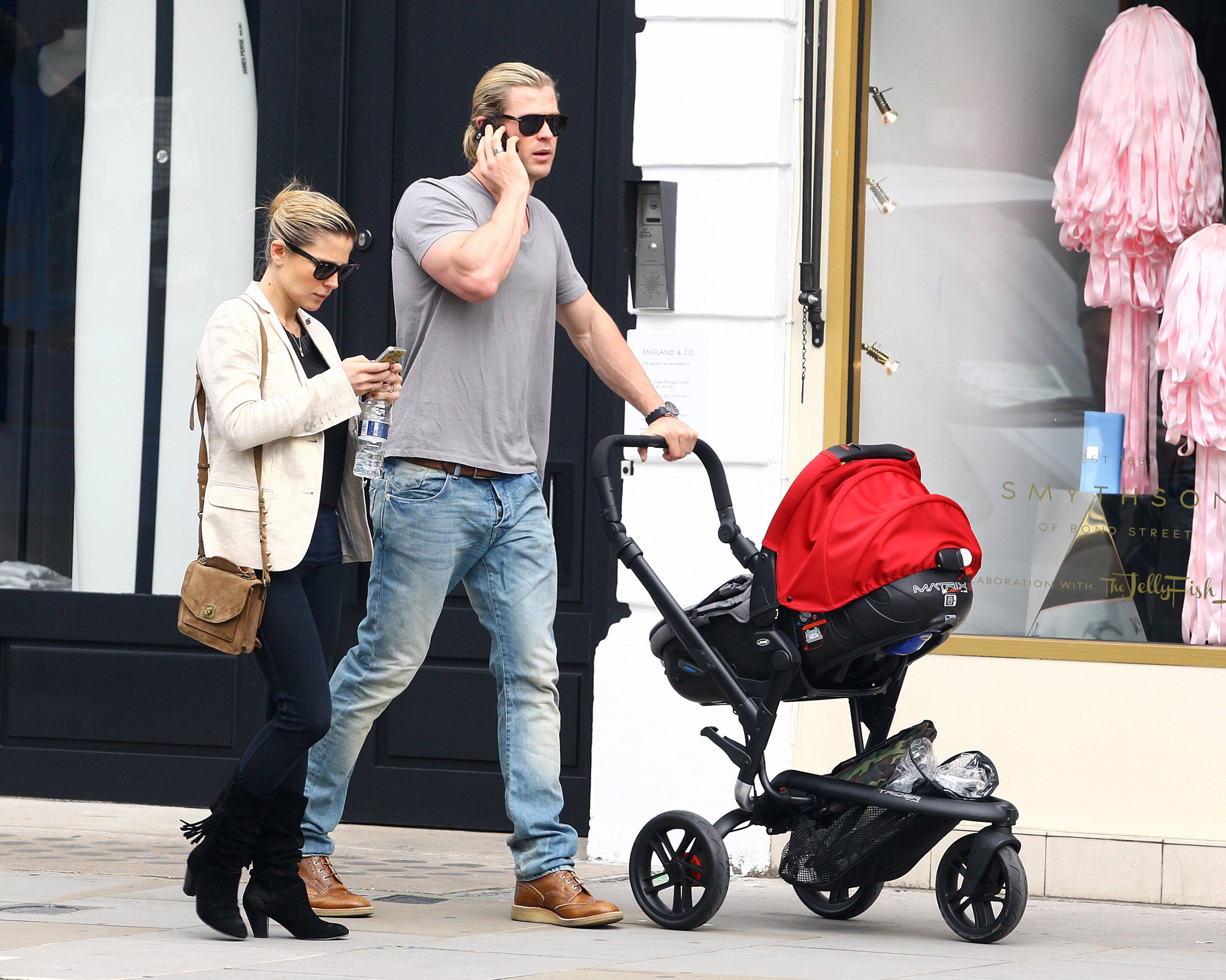 Chris Hemsworth and his wife Elsa Pataky | Source: Getty Images